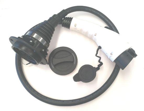 Bild von Adapter Typ 2 auf Typ 1 (32A/230V)