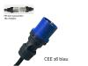 Bild von Adapter auf CEE16-3 (230V/16A) für JUICE BOOSTER 2