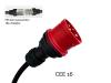 Bild von Adapter auf CEE16-5 (400V/16A) für JUICE BOOSTER 2